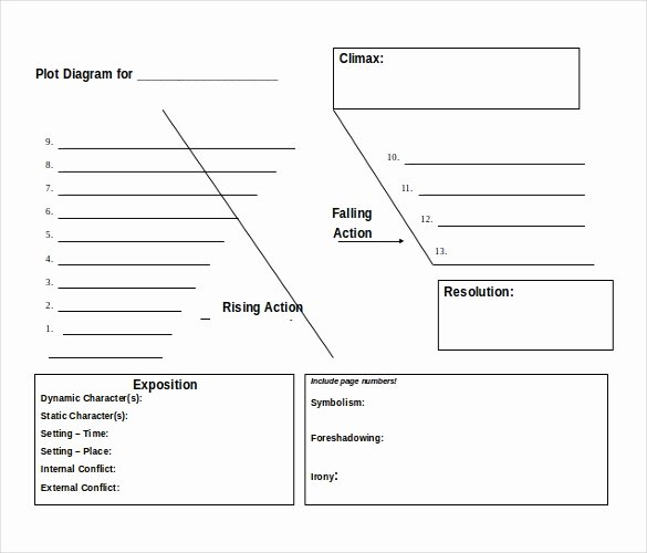 Blank Plot Diagram Template New 11 Free Ms Word 2010 Diagram Templates Download
