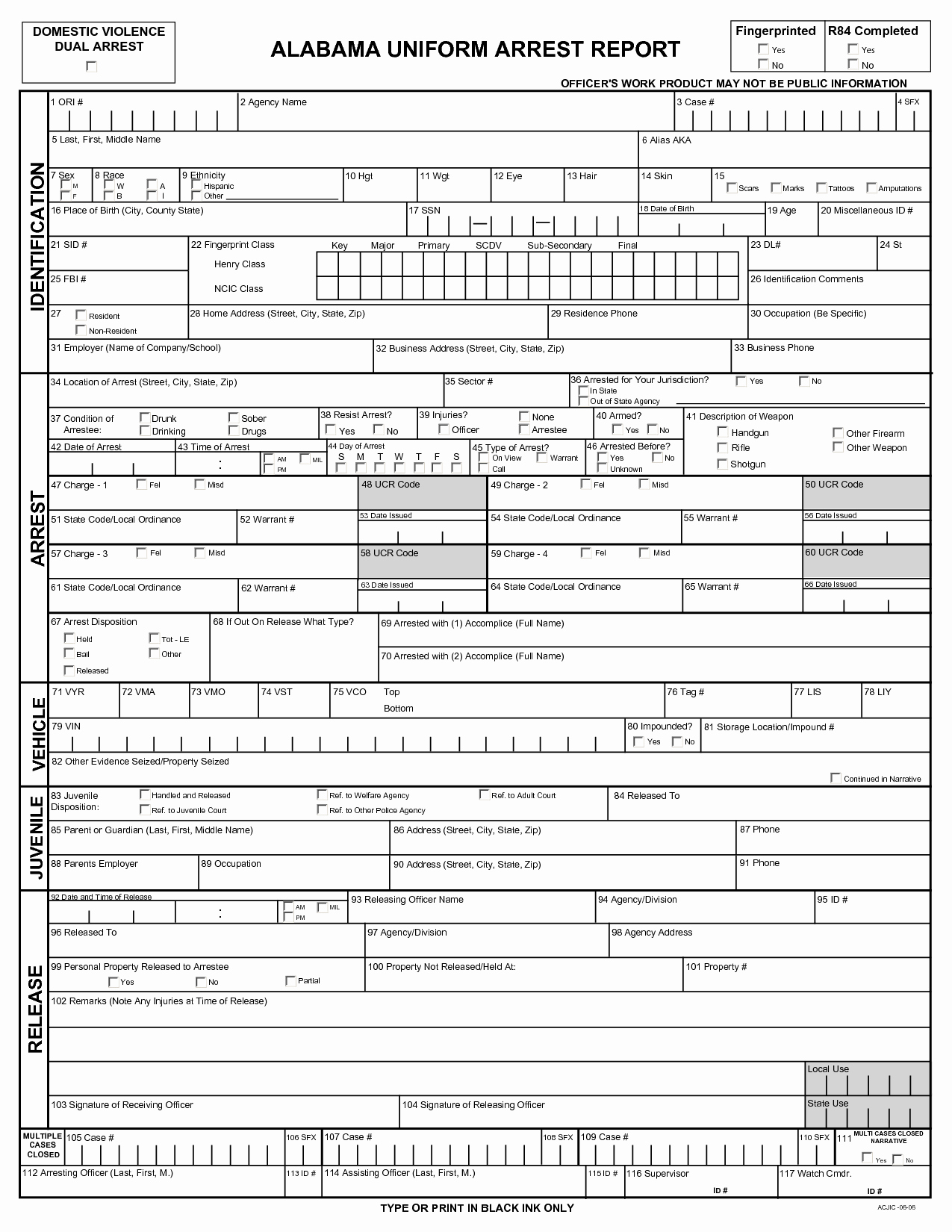 Blank Police Report Template Awesome Best S Of Blank Police Fense Report Blank Police
