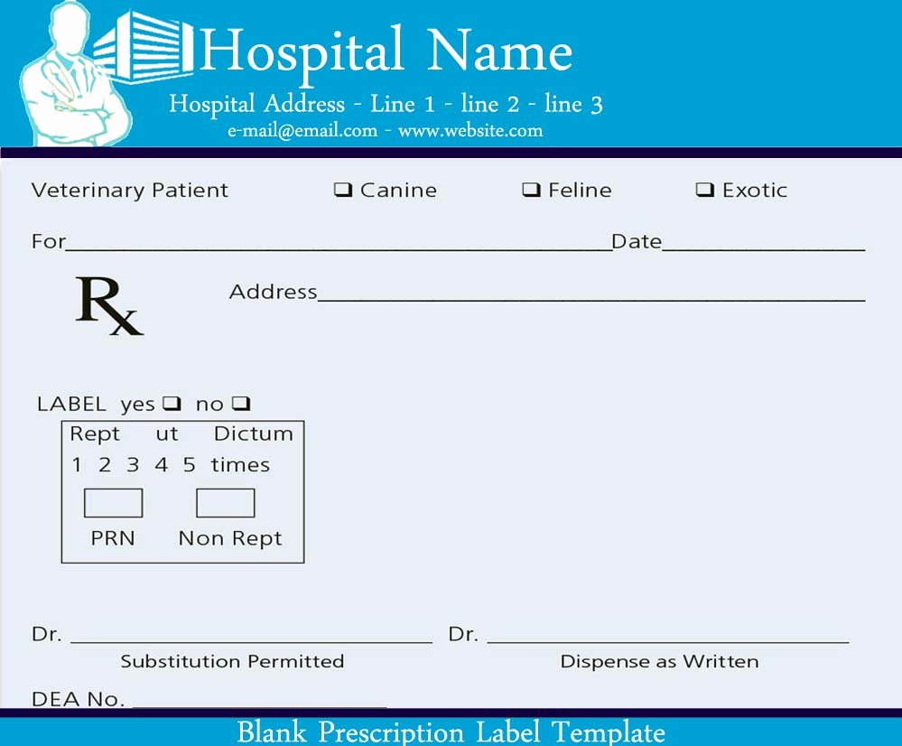 Blank Prescription Pad Template Elegant Blank Prescription Pad Image Sample