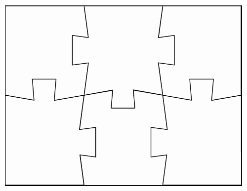 Blank Puzzle Pieces Template Fresh Blank Jigsaw Puzzle Templates