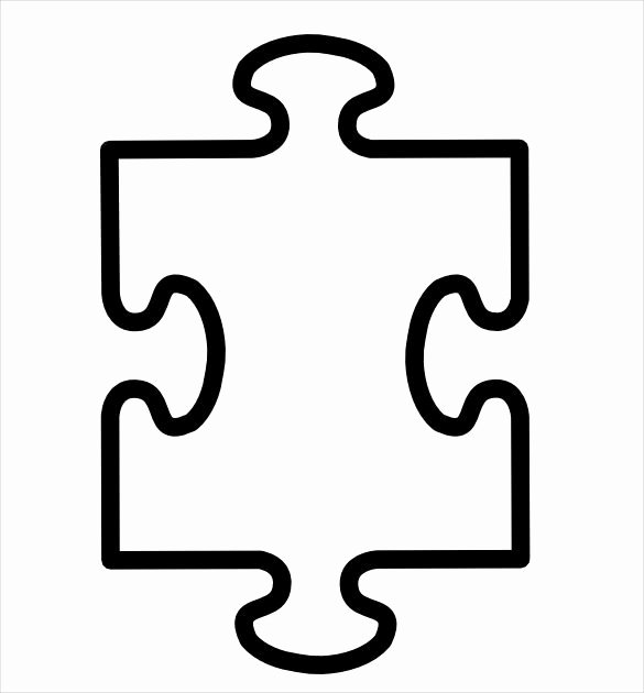 Blank Puzzle Pieces Template Lovely Puzzle Piece Template 19 Free Psd Png Pdf formats