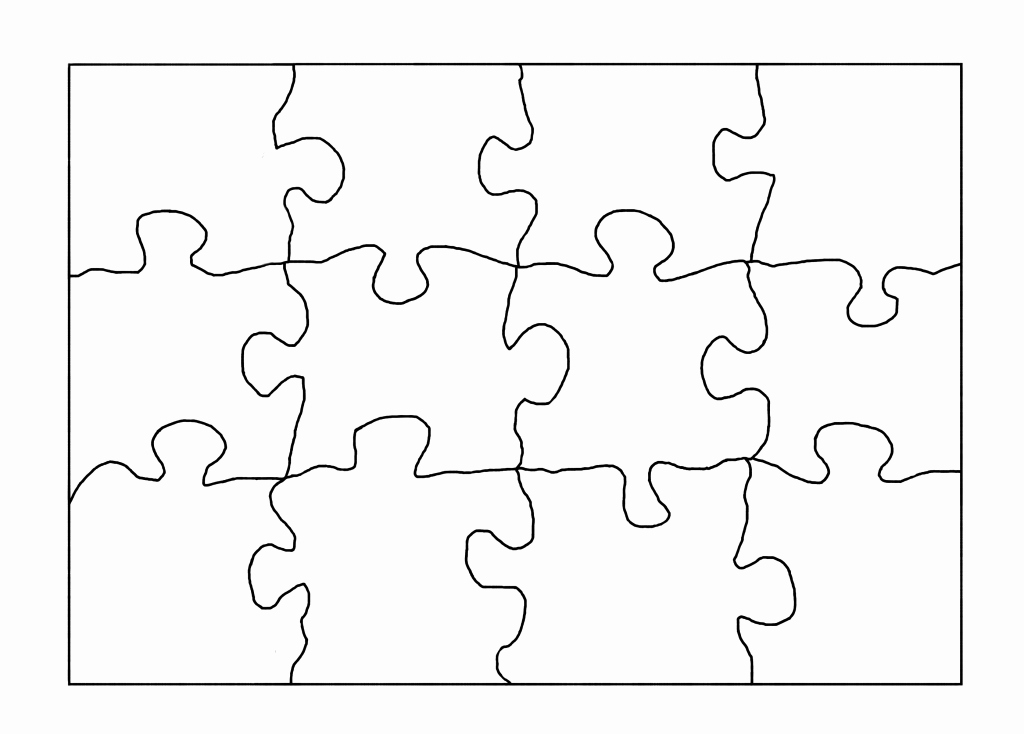 Blank Puzzle Pieces Template Luxury Reading Tip Raising A Well Read Child
