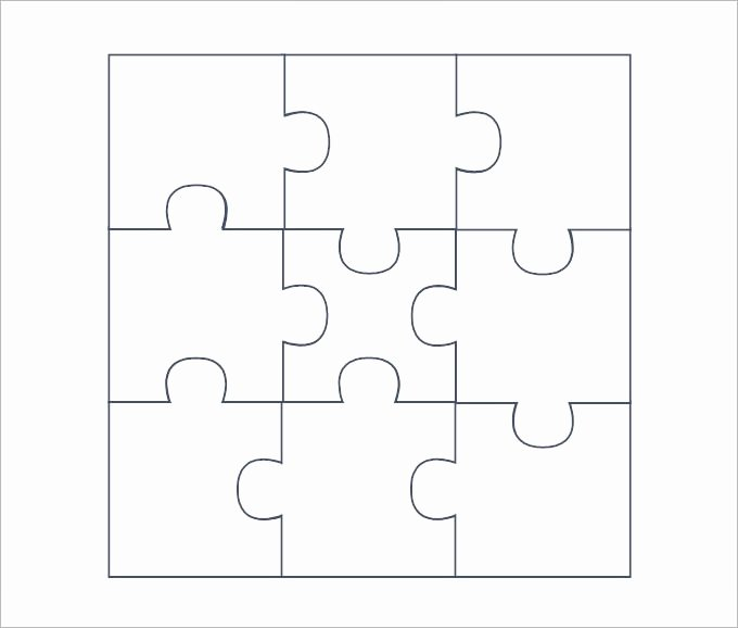 Blank Puzzle Pieces Template Unique Puzzle Piece Template 19 Free Psd Png Pdf formats