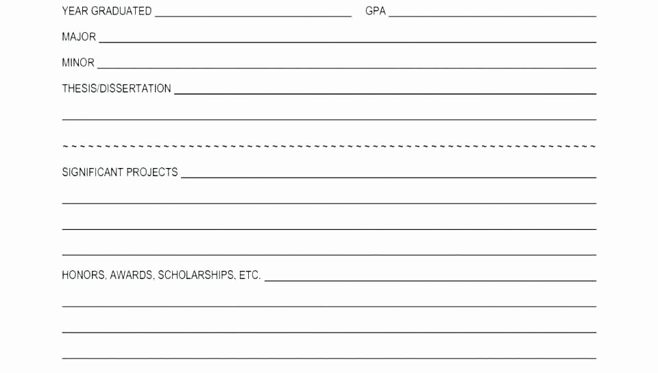 Blank Scholarship Application Template Lovely Free Employment Application Template Downloadable