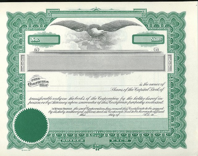 Blank Stock Certificate Template Awesome 9 Best Of Free Blank Stock Certificate form Blank