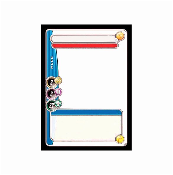 Blank Trading Card Template Awesome 23 Trading Card Templates