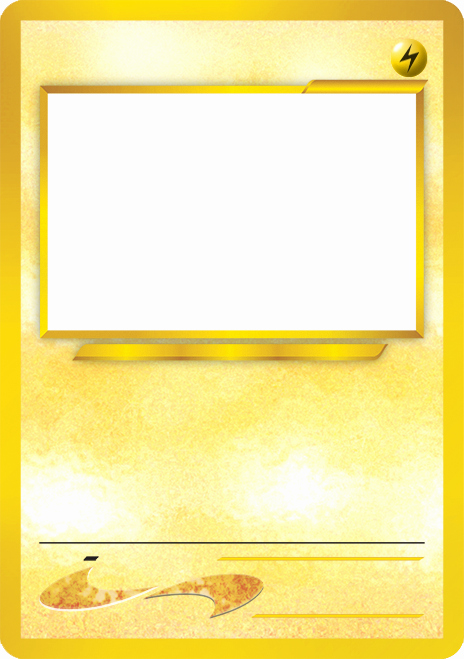 Blank Trading Card Template Awesome Blank Pokemon Card Template Best Photos Of Pokemon Trading