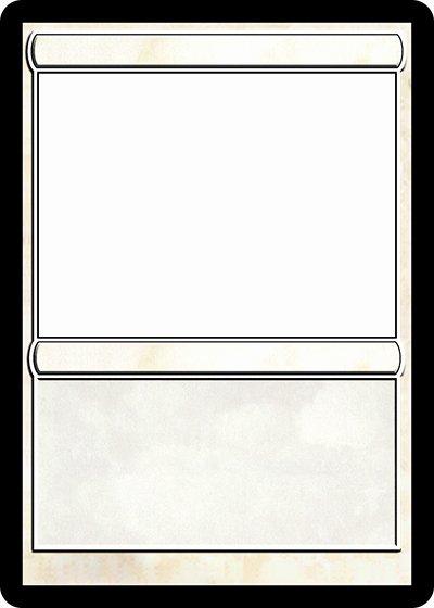 Blank Trading Card Template Beautiful Magic Card Maker
