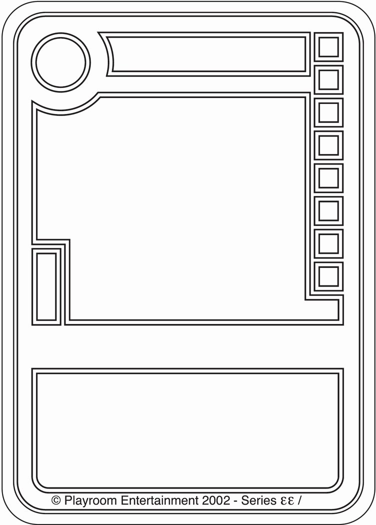 Blank Trading Card Template Beautiful Trading Card Game Card Templates to Pin On