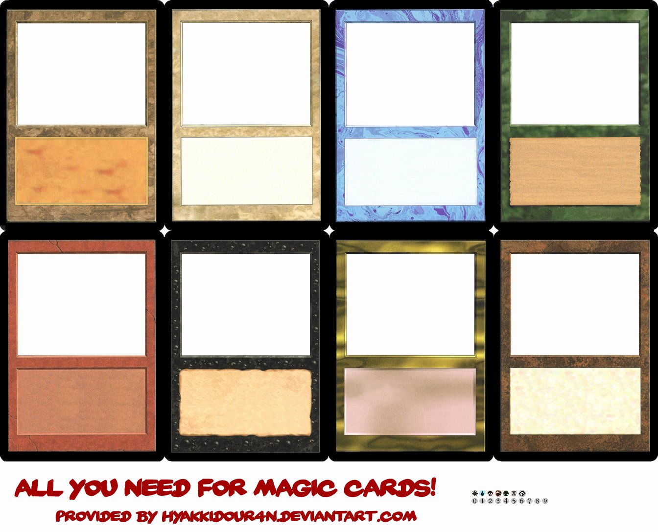 Blank Trading Card Template Best Of Best S Of Template Magic Card Game Game Card