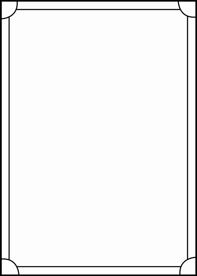 Blank Trading Card Template Elegant Blank Trading Cards