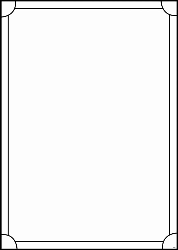 Blank Trading Card Template Fresh Blank Trading Cards