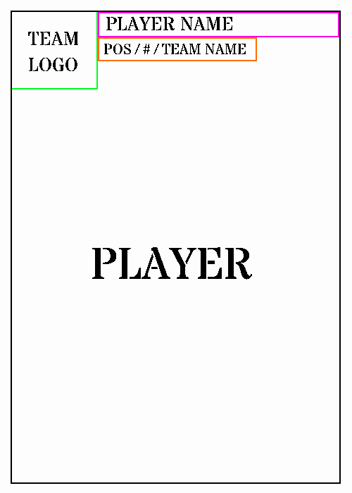 Blank Trading Card Template Fresh Trading Card Template