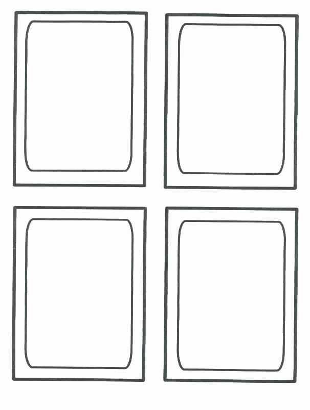 Blank Trading Card Template Luxury Blank Trading Card Template – Flybymedia
