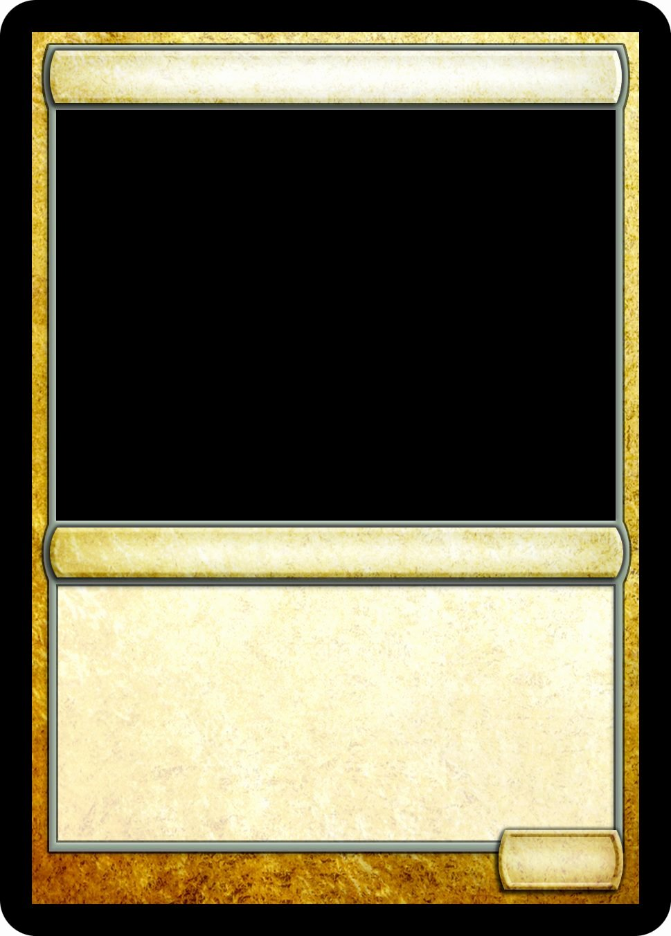 Blank Trading Card Template Luxury Magic Trading Card Template