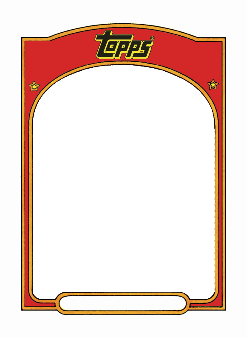 Blank Trading Card Template Unique Sports Trading Card Templet Craft Ideas