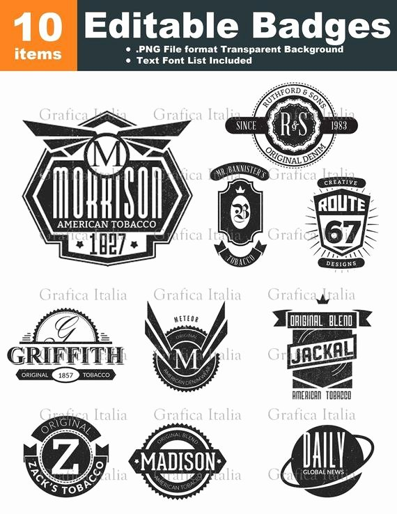 Blank Vintage Logo Template Beautiful Retro Blank Badge Logo Templates 10 Graphic Designs