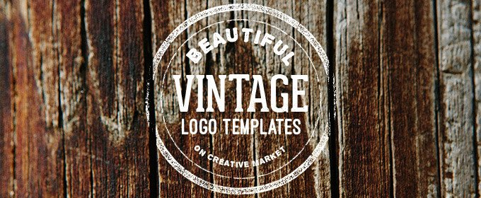 Blank Vintage Logo Template Best Of 25 Beautiful Vintage Logo Templates Creative Market Blog