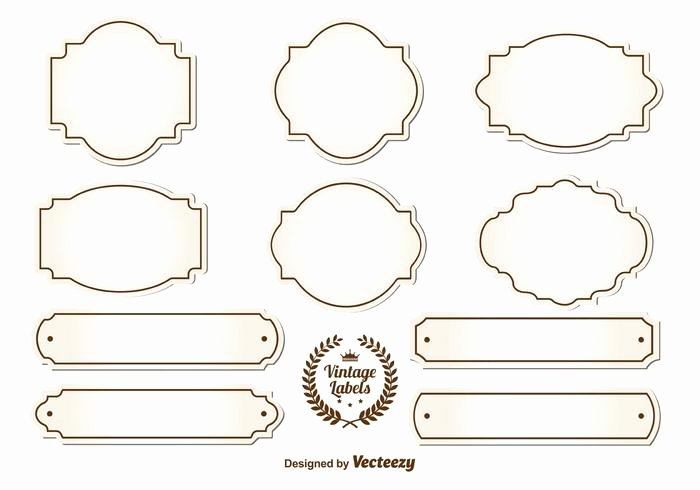 Blank Vintage Logo Template Best Of Blank Vintage Labels Download Free Vector Art Stock