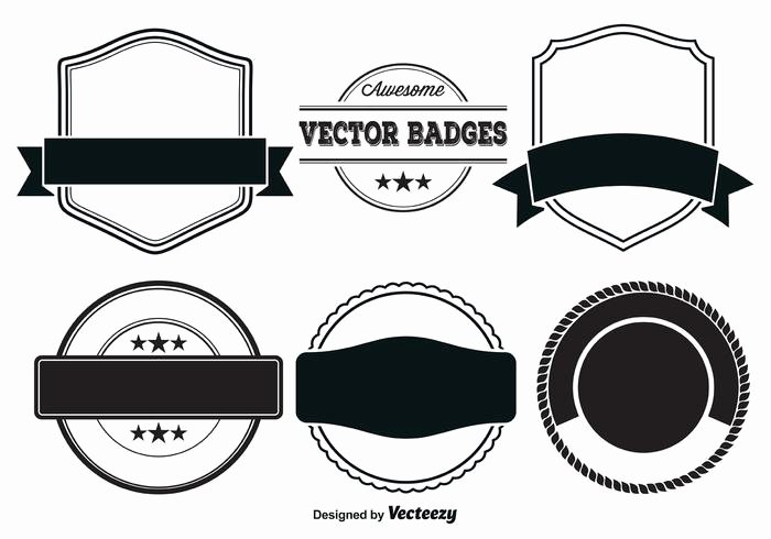 Blank Vintage Logo Template Best Of Vector Badge Templates Download Free Vector Art Stock