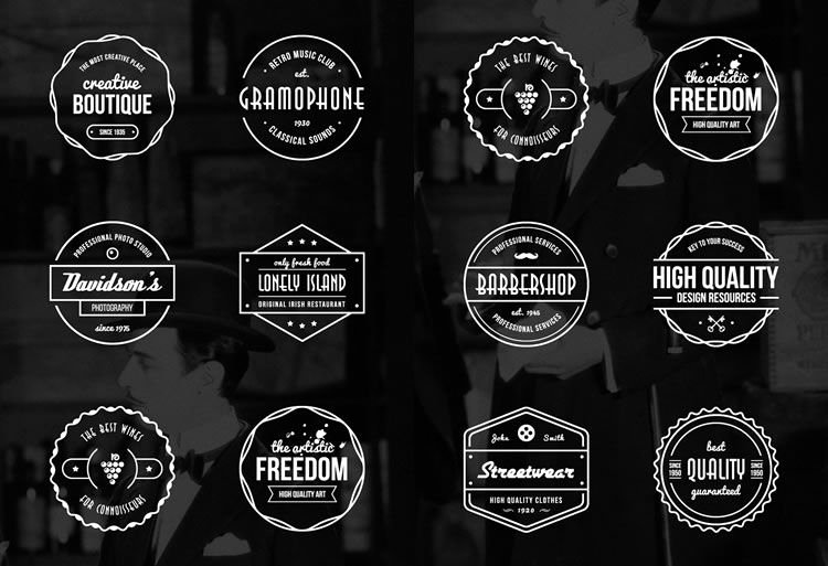 Blank Vintage Logo Template Elegant 15 Free Vintage Logo & Badge Template Collections