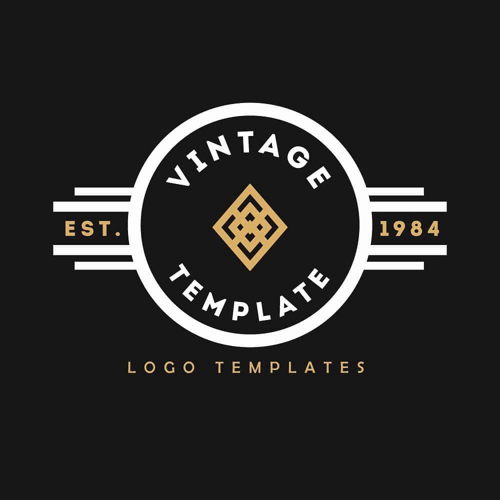 Blank Vintage Logo Template New Vintage Logo Templates 1 Logo Templates Creative Market