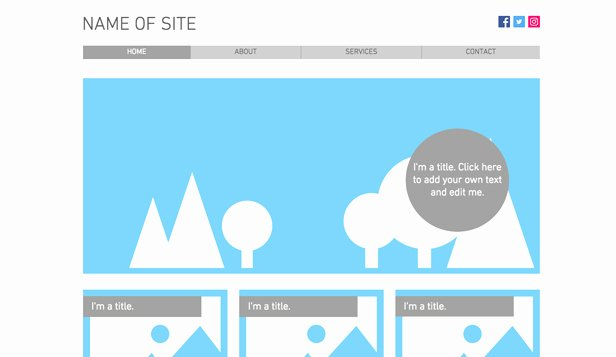 Blank Web Page Template Awesome Blank Website Templates for Creative Minds