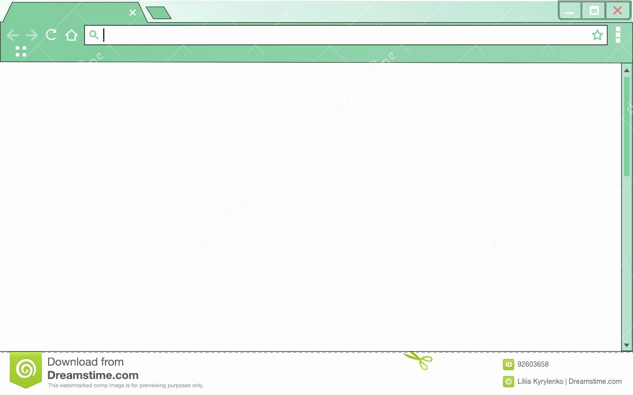 Blank Web Page Template Best Of Template Empty Internet Browser Window Blank Puter