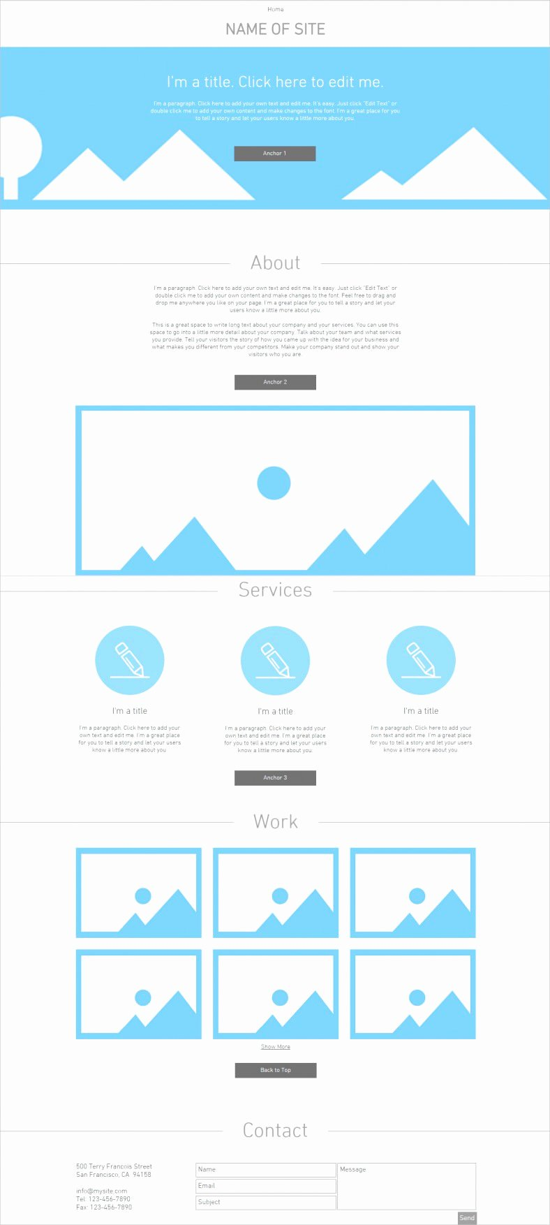 Blank Web Page Template Lovely Zerotype A Blank Canvas Template Web All Free Stuning