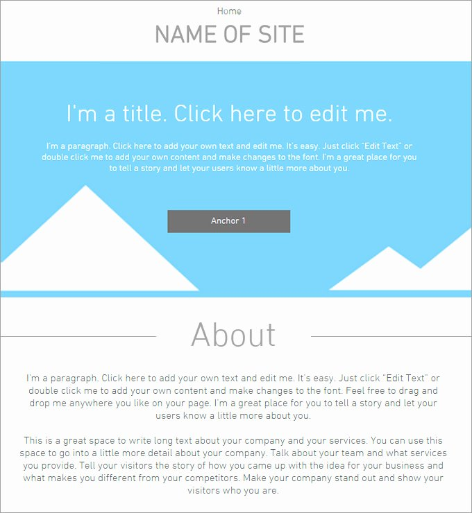 Blank Web Page Template Unique 5 Blank Website Templates Website Template
