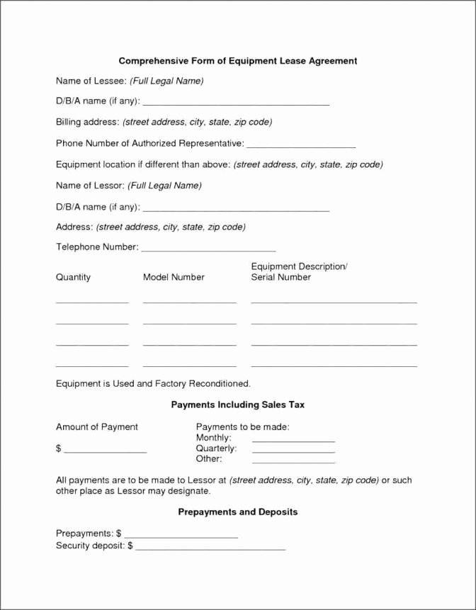 Blanket Purchase Agreement Template Best Of Sample Blanket Purchase Agreement Template