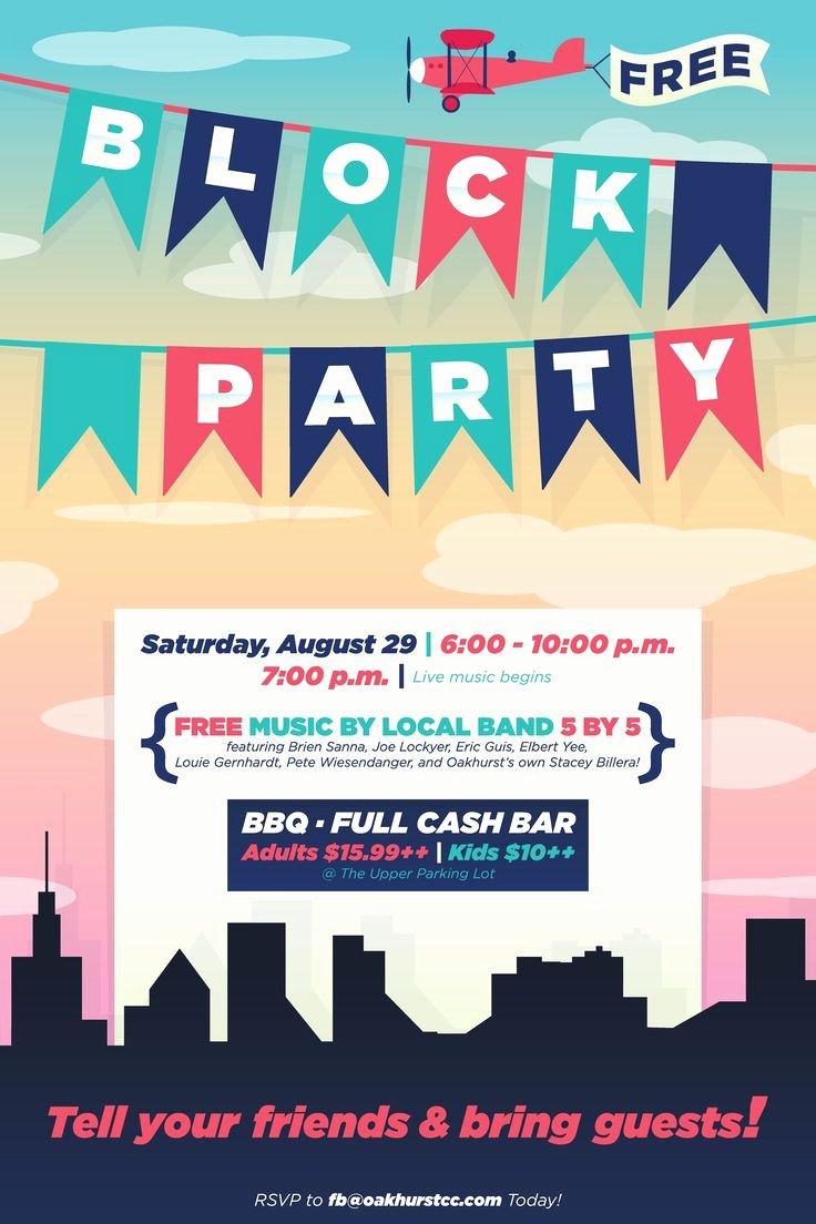 Block Party Flyer Template Best Of Best 25 Block Party Invites Ideas On Pinterest