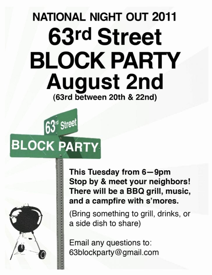 Block Party Flyer Template Best Of Block Party Flyer Template Free Professional High Quality