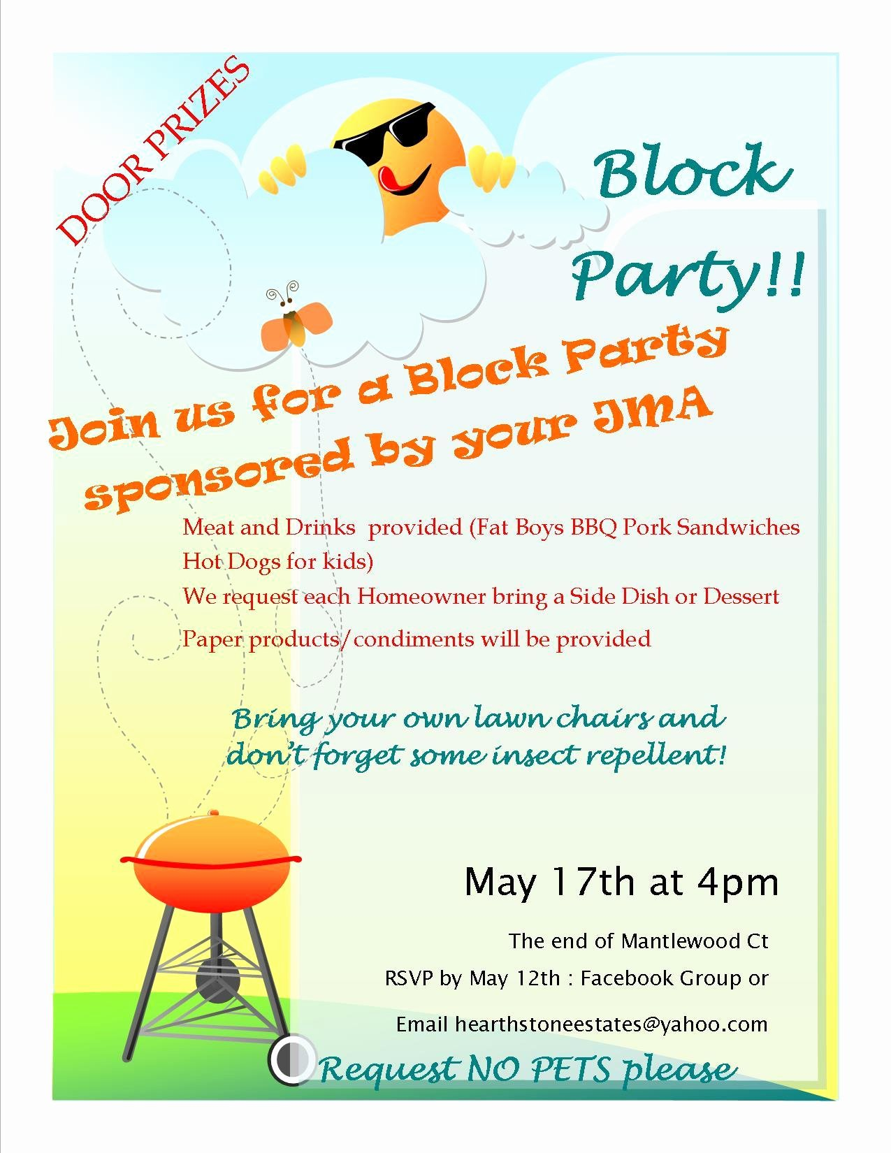 Block Party Flyer Template Fresh Block Party Flyer