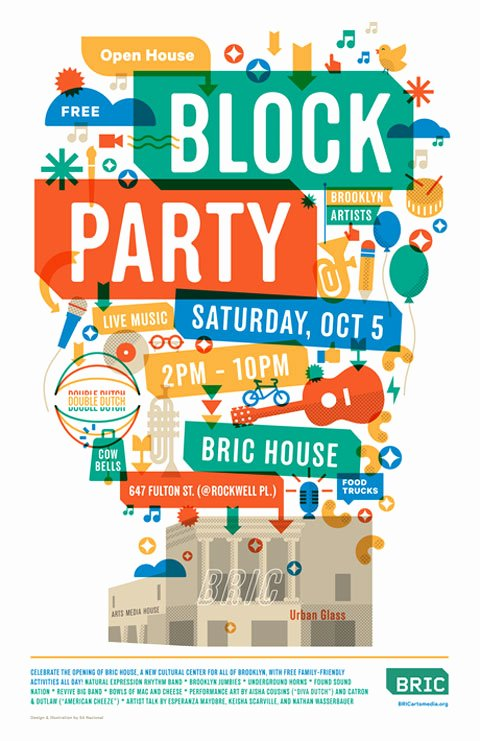 Block Party Flyer Template Lovely Block Party Flyer Ibrizz