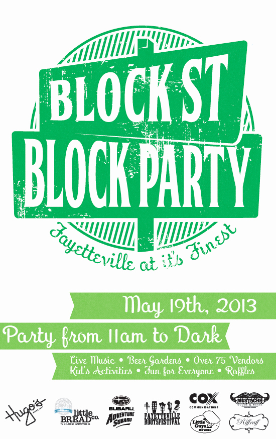 Block Party Flyer Template New Flyer Guide 2013 Block Street Block Party