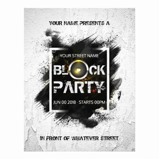 Block Party Invite Template Awesome Best 25 Block Party Invites Ideas On Pinterest