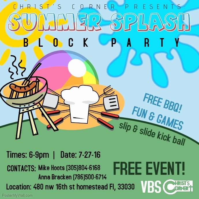 Block Party Invite Template Best Of Block Party Flyer Templates