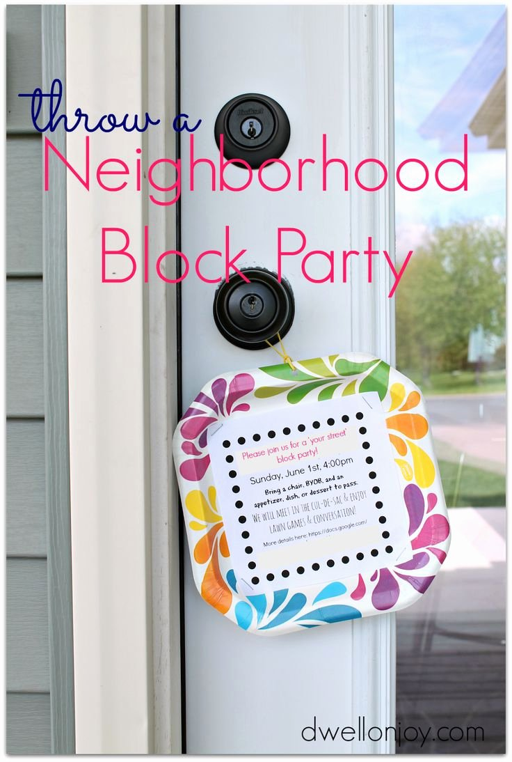 Block Party Invite Template Luxury Best 25 Block Party Invites Ideas On Pinterest