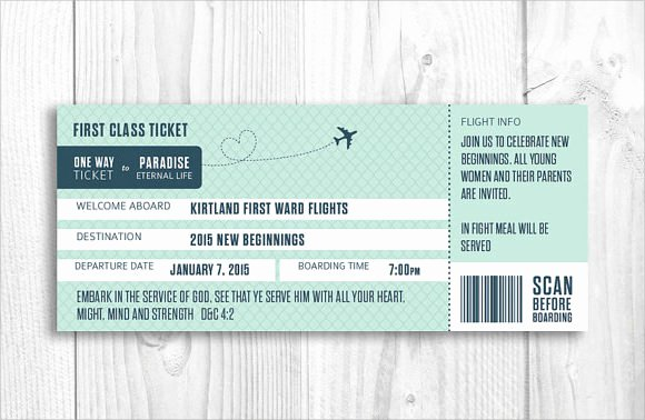 Boarding Pass Invitation Template Beautiful 10 Boarding Pass Samples