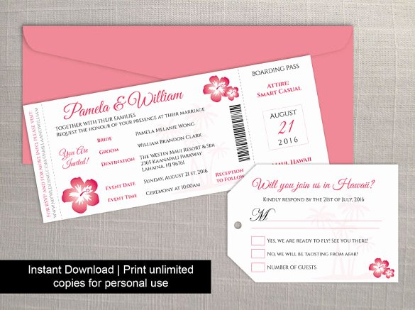 Boarding Pass Invitation Template Best Of 28 Boarding Pass Invitation Templates Psd Ai Vector