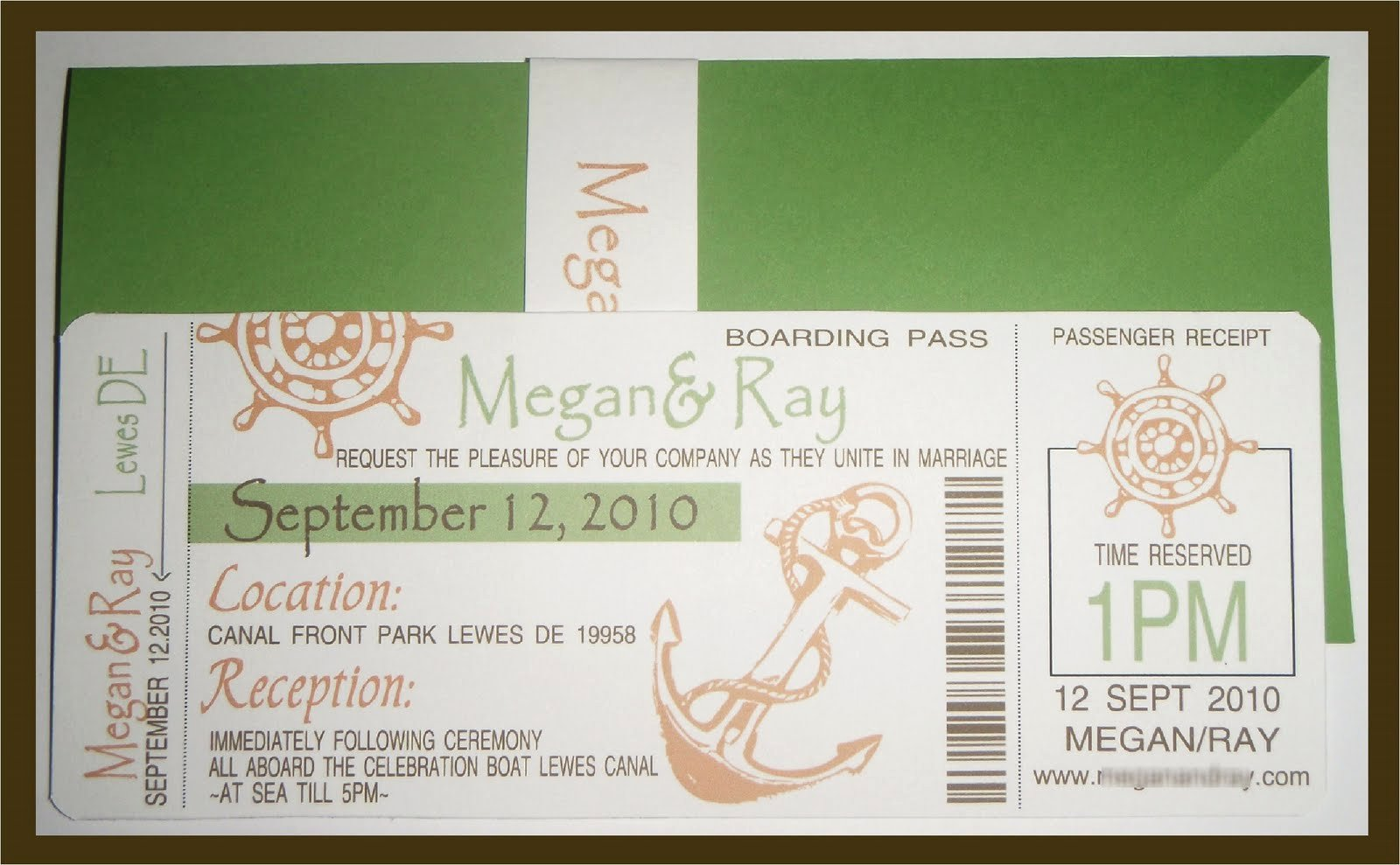 Boarding Pass Invitation Template Inspirational Custom Creations Party Place Megan S Cruise Ship Boarding