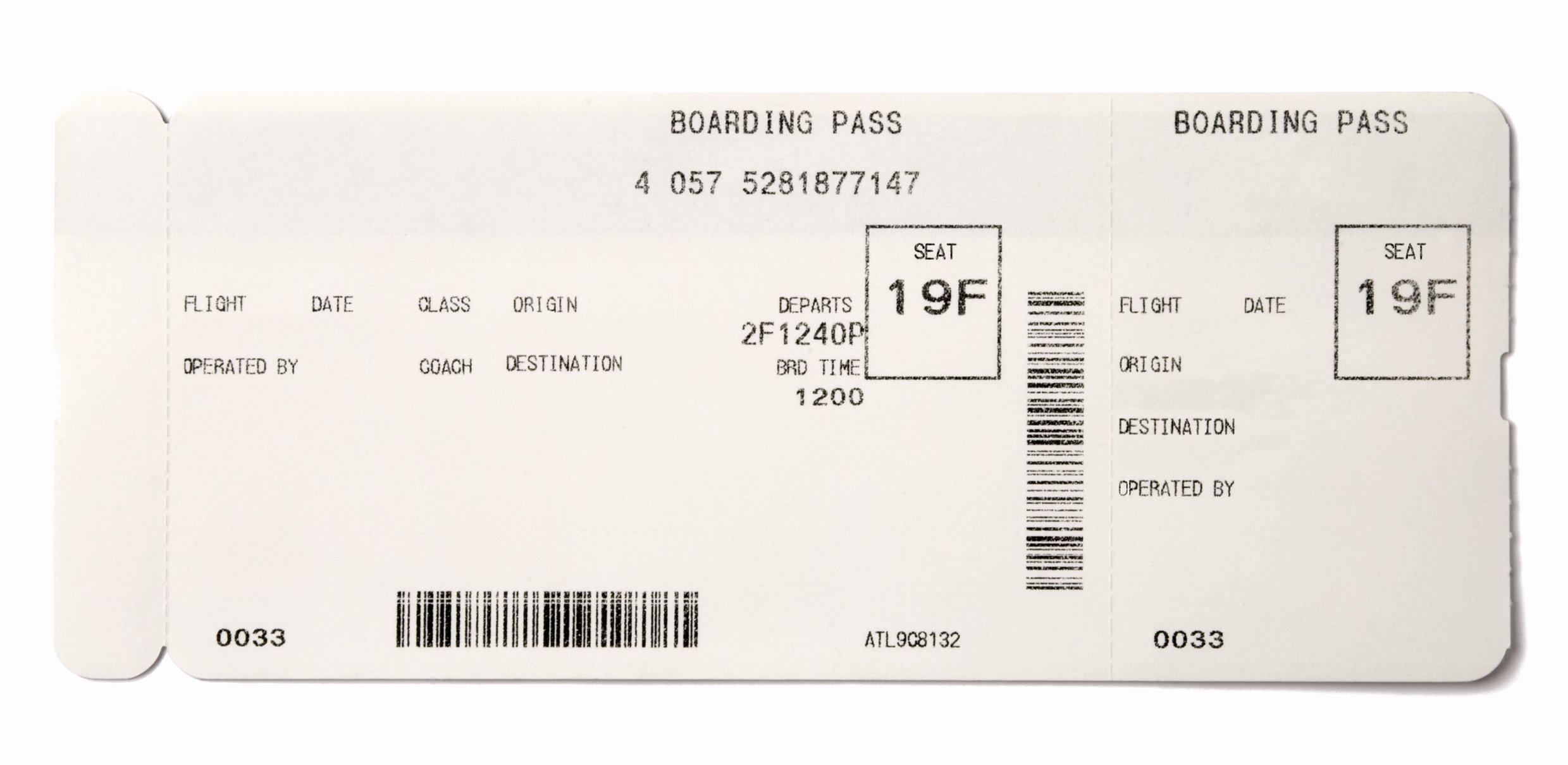 making fake boarding passes ts