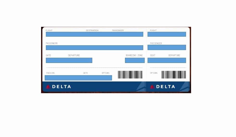 Boarding Pass Template Free Elegant 16 Real & Fake Boarding Pass Templates Free