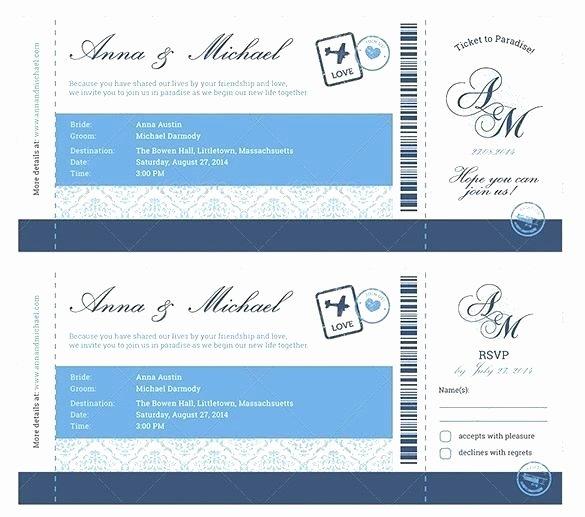 Boarding Pass Template Free Inspirational Boarding Pass Invitation Templates Vector Free Wedding