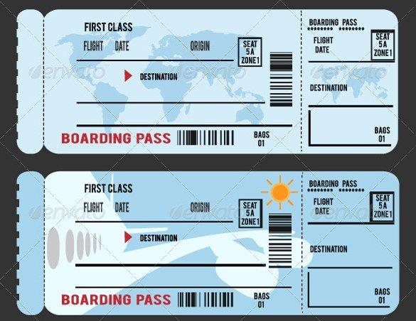 Boarding Pass Template Free Luxury Fake Boarding Pass Template Invitation Template