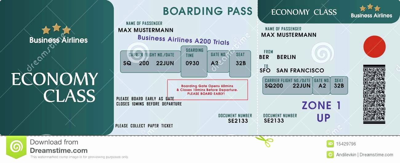 Boarding Pass Template Free Unique Print Your Own Tickets Template Free Editable Raffle Movie