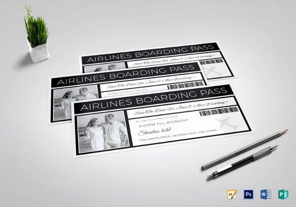 Boarding Pass Template Photoshop Beautiful 53 Printable Ticket Templates Psd Ai Word