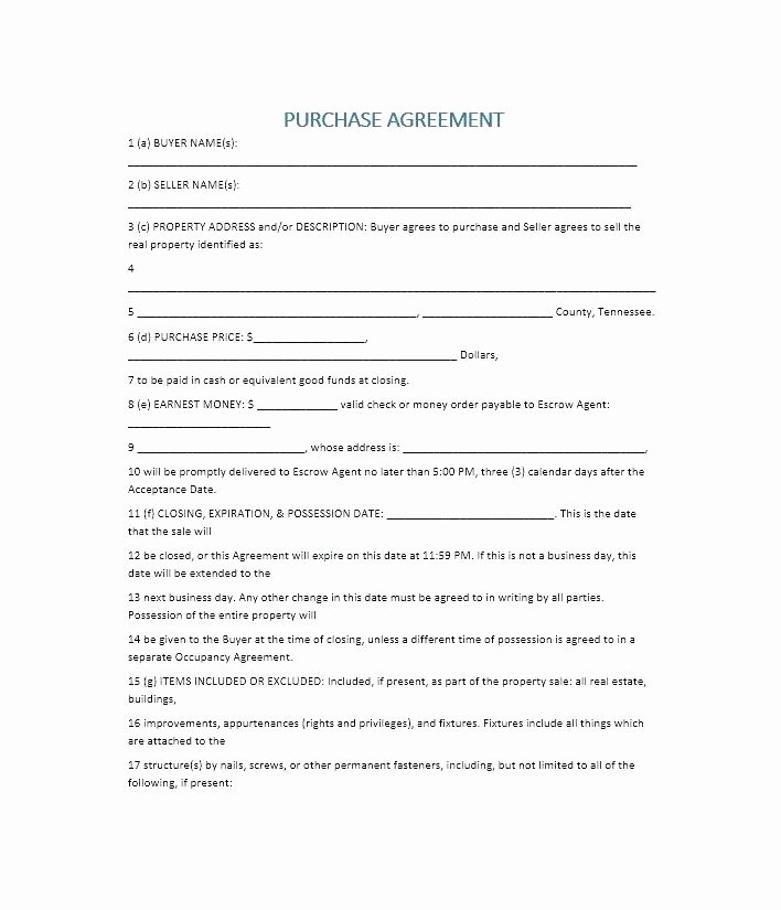 Boat Purchase Agreement Template Elegant Boat Purchase Agreement Template Bill Sale form