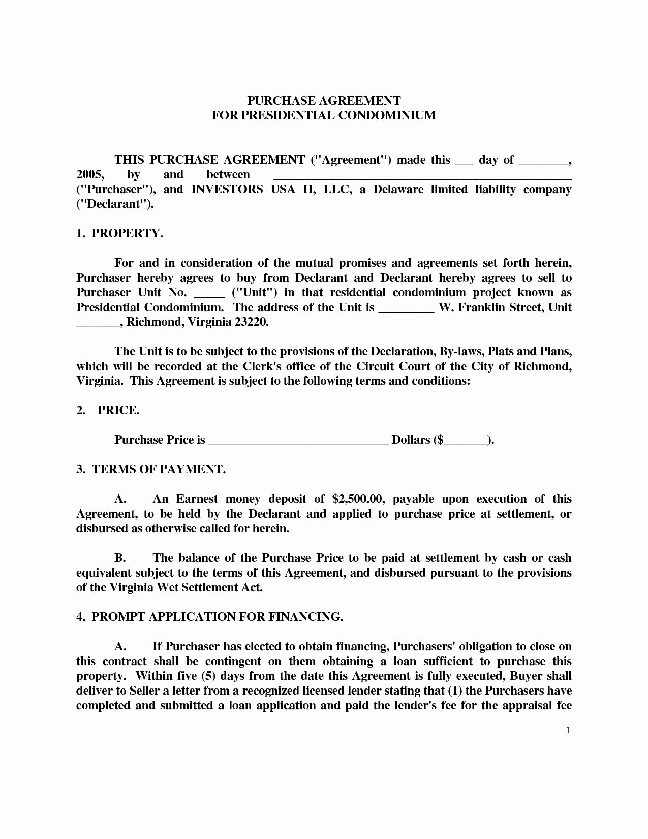 Boat Purchase Agreement Template New 36 New Free Rv Purchase Agreement form Da V